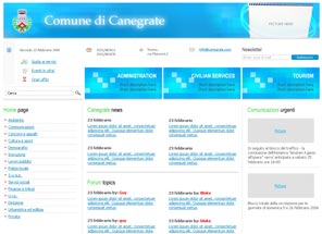 Canegrate web development